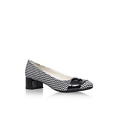 Anne Klein - Black 'Hastobe' mid heel court shoes