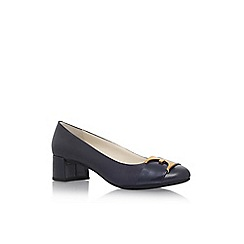 Anne Klein - Blue 'Hastobe' mid heel court shoes