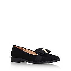 Miss KG - Black 'Marcie' Flat Slip On Loafers