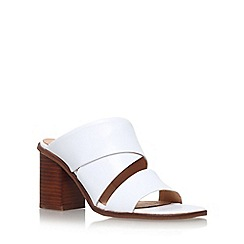 Carvela - White 'Klone' high heel sandals