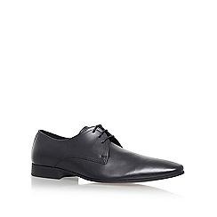 KG Kurt Geiger - Black 'Santon' Flat Lace Up Formal Shoes