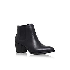 Anne Klein - Black 'Geordanna' high heel ankle boots