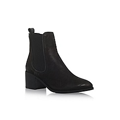 Carvela - Black 'Taxx' mid heel ankle boot