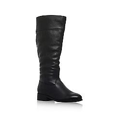 Carvela - Black 'Tock' low heel knee boots