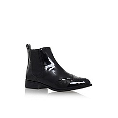 Miss KG - Black 'Sneek' flat ankle boot