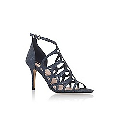 Miss KG - Blue 'Glide' high heel sandals