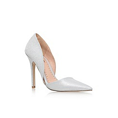 Miss KG - Silver 'Andi2' high heel court shoes