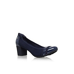 Anne Klein - Blue 'Guardian' low heel court shoes