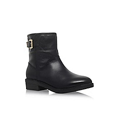 Carvela Comfort - Black 'Rest' low heel ankle boot