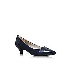 Anne Klein - Blue 'Mckinley' low heel court shoes