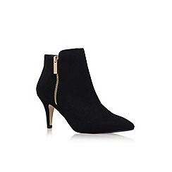 Carvela - Black 'Sphinx' high heel ankle boots