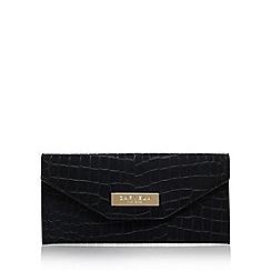 Carvela - Black 'Nell' envelope wallet clutch bag