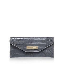 Carvela - Grey 'Nell' envelope wallet clutch bag