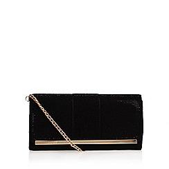 Miss KG - Black 'Talia' clutch bag