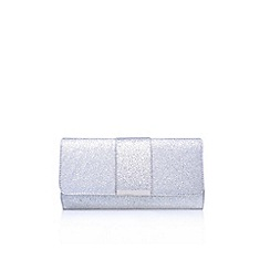 Miss KG - Silver 'Talia' clutch bag