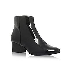Carvela - Black 'Sting' mid heel ankle boots