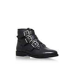 Carvela - Black 'Total' Flat Biker Boots