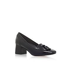Carvela - Black 'Konsider' high heel loafers