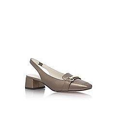 Anne Klein - Metal 'Abbie' mid heel sandals