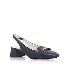 Anne Klein - Blue 'Abbie' low heel sandals
