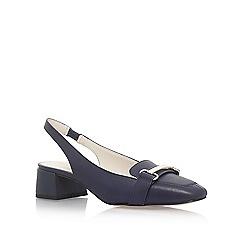 Anne Klein - Blue 'Abbie' low heel sandals