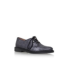 KG Kurt Geiger - Metal 'Kidd' flat lace up shoes