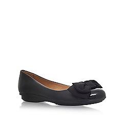 Carvela Comfort - Black 'Clara' flat ballerina pumps