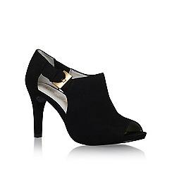 Anne Klein - Black 'Olita' mid heel shoe boots