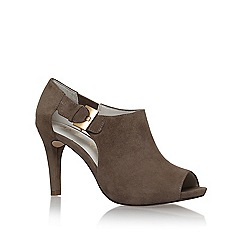 Anne Klein - Brown 'Olita' mid heel shoe boots