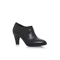 Anne Klein - Black 'Dalayne' high heel ankle boots