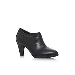 Anne Klein - Black 'Dalayne' high heel ankle boots