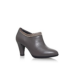 Anne Klein - Grey 'Dalayne' high heel ankle boots