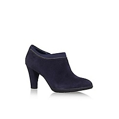 Anne Klein - Blue 'Dalayne' high heel ankle boots