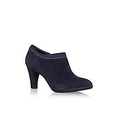 Anne Klein - Blue 'Dalayne' high heel ankle boots