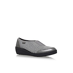 Anne Klein - Grey 'Yarmilla' flat slip on sneakers