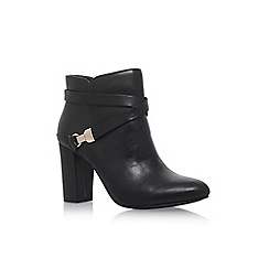 Anne Klein - Black 'Natalynn' high heel ankle boots