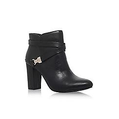 Anne Klein - Black 'Natalynn' high heel ankle boots