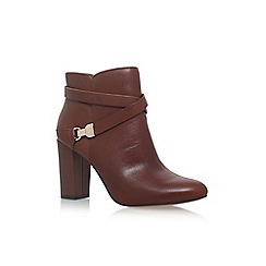 Anne Klein - Brown 'Natalynn' high heel ankle boots