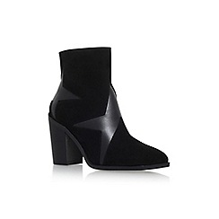 KG Kurt Geiger - Black 'Skywalk' High Heel Zip Up Ankle Boot