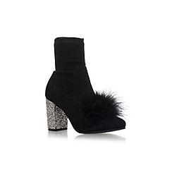 KG Kurt Geiger - Black 'Rio' high heel ankle boots