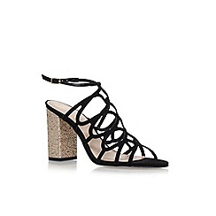 KG Kurt Geiger - Black 'Hallie' high heel sandals