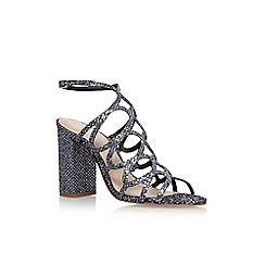KG Kurt Geiger - Metal 'Hallie' high heel sandals