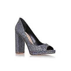 KG Kurt Geiger - Metallic 'Impulse' high heel sandals