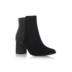 Miss KG - Black 'Jayne' high heel ankle boots