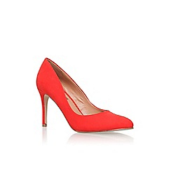 Miss KG - Red 'Cole' high heel court shoes