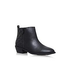 Miss KG - Black 'Jonah' flat ankle boots