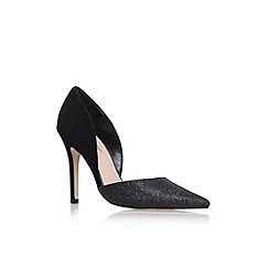 Miss KG - Black 'Shannon' high heel court shoes