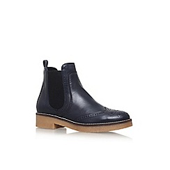 Carvela - Blue 'Slowest' flat ankle boots