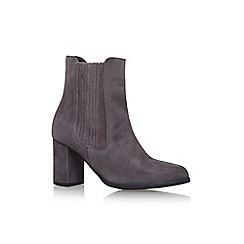 Carvela - Grey 'Samuel' high heel slip on ankle boot