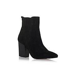 Carvela - Black 'Slate' high heel ankle boots